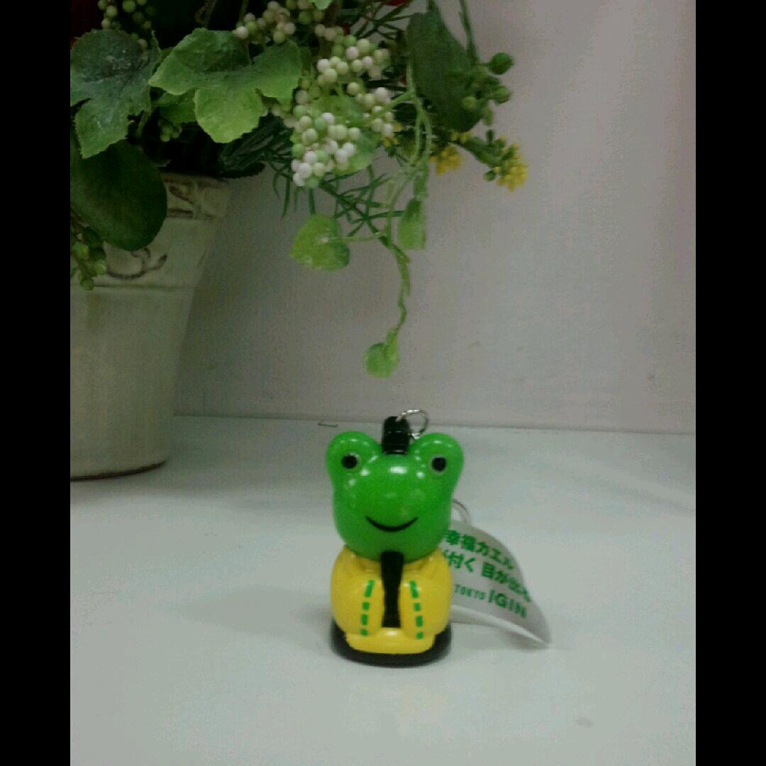 幸福カエル