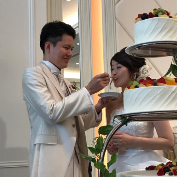 技工士石松さん結婚式(o^^o)